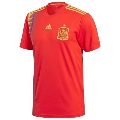 """Červený fotbalový dres """"Španělská reprezentace"""", Adidas - velikost XL"""