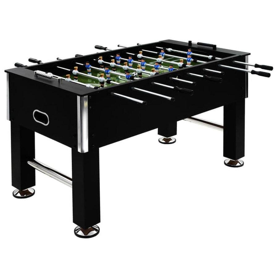 Stolní fotbal - Stolní fotbal ocel 60 kg 140x74,5x87,5 cm černý