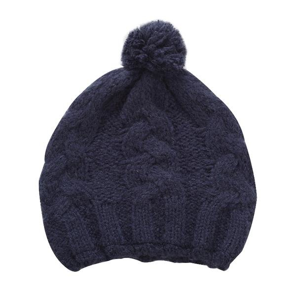 Modrá dámská zimní čepice Alpine Pro