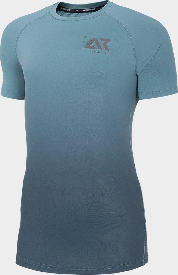 Šedé pánské běžecké tričko 4F