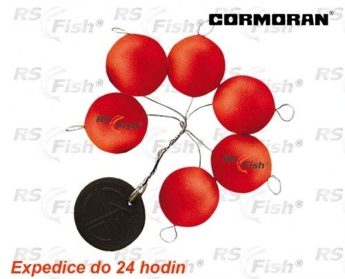 Splávek - Cormoran® Splávek polystyrenový - barva červená 15,0 mm - 79-50025