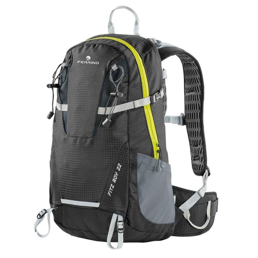 fa60955c75 Černo-šedý turistický batoh Fitzroy