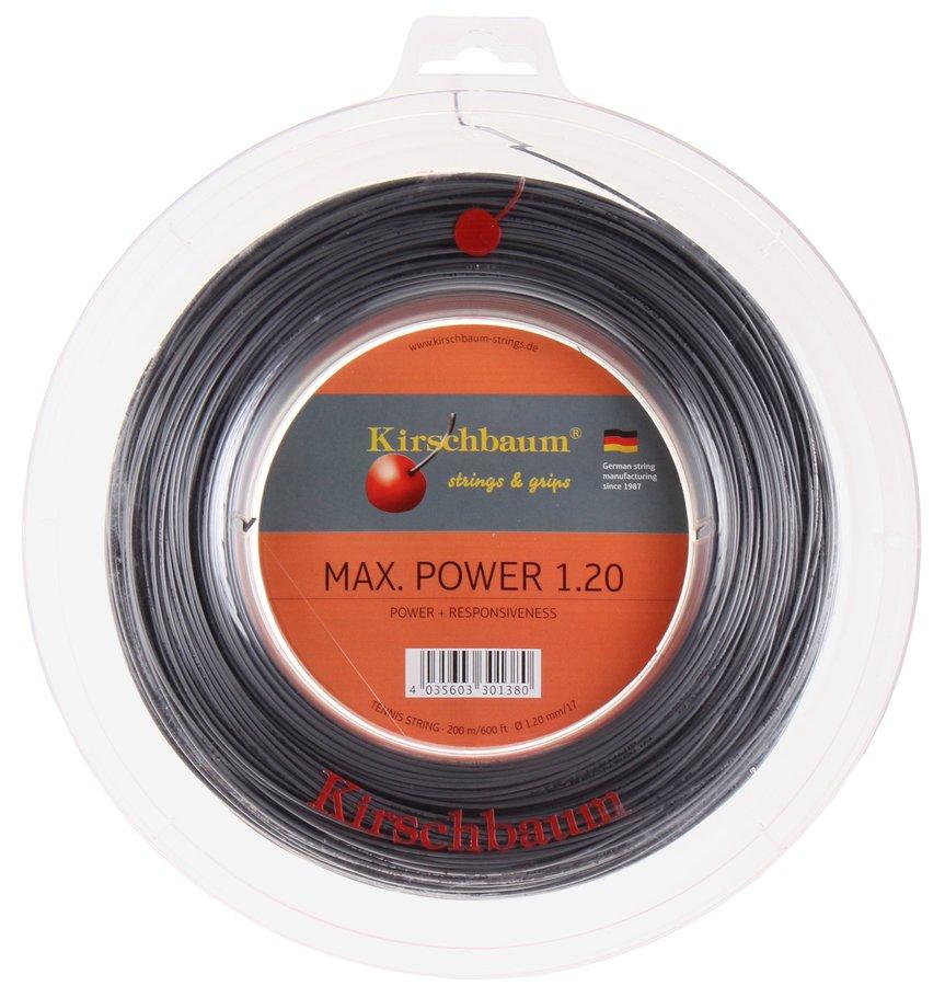 Tenisový výplet Max Power, Kirschbaum - průměr 1,3 mm