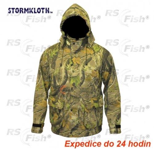 Zelená rybářská bunda Stormkloth
