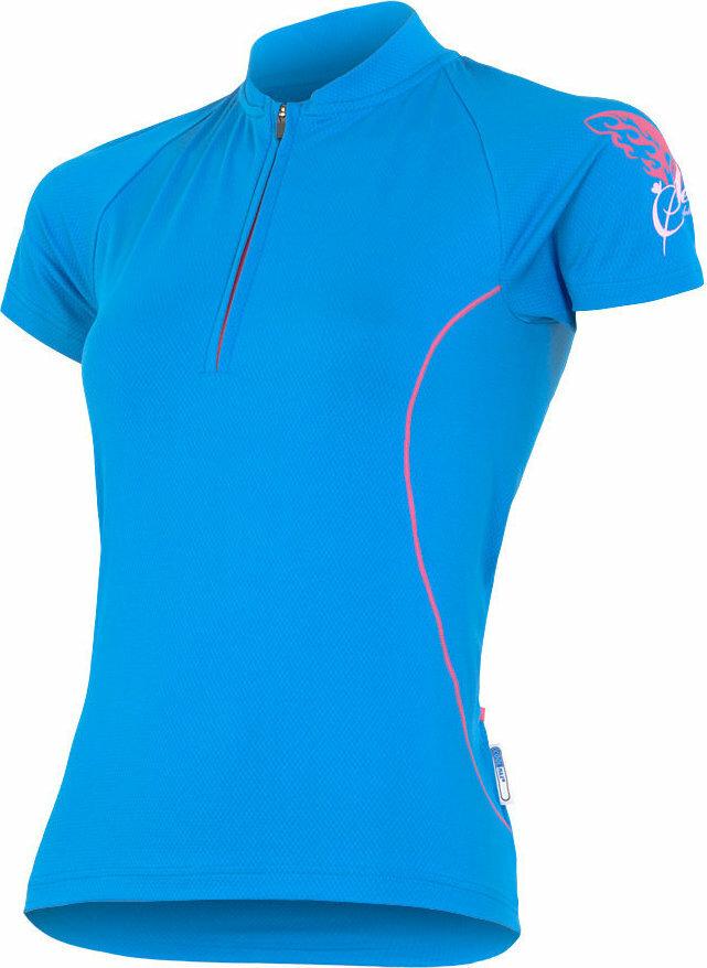 Modrý dámský cyklistický dres Sensor - velikost S