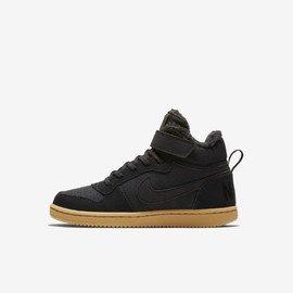 Černé dětské zimní chlapecké nebo dívčí tenisky Nike