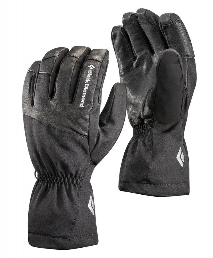Černé dámské zimní rukavice Black Diamond