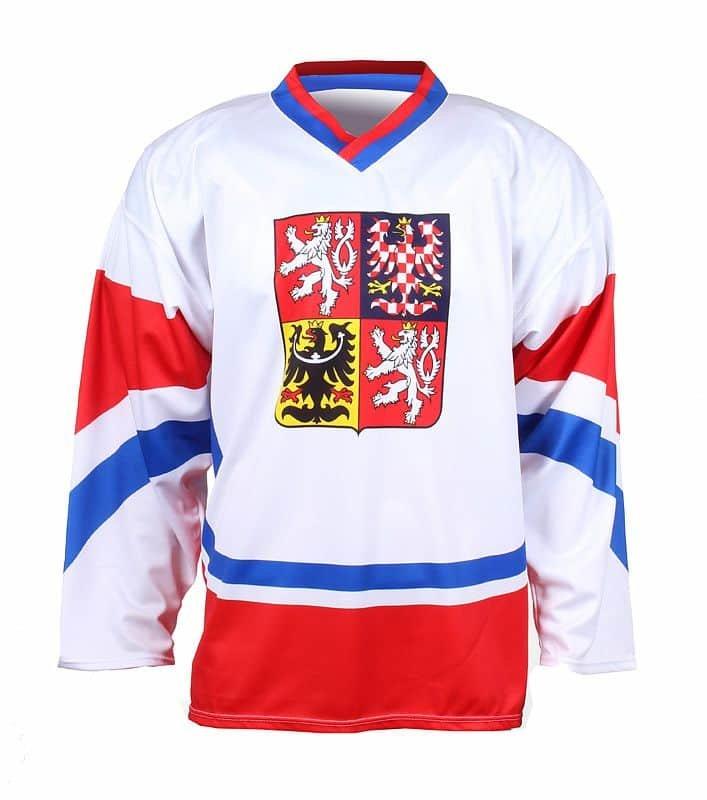 Hokejový dres - hokejový dres Replika ČR 2011 barva: červená;velikost oblečení: XL