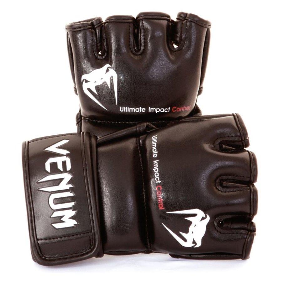 MMA rukavice - MMA rukavice Venum Impact - černá - velikost XL