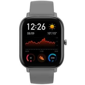 Šedé chytré hodinky Amazfit GTS, Xiaomi