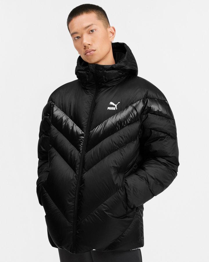 Černá zimní pánská bunda Puma - velikost XL