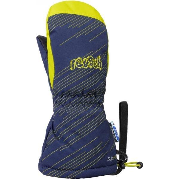Modré dětské lyžařské rukavice Reusch