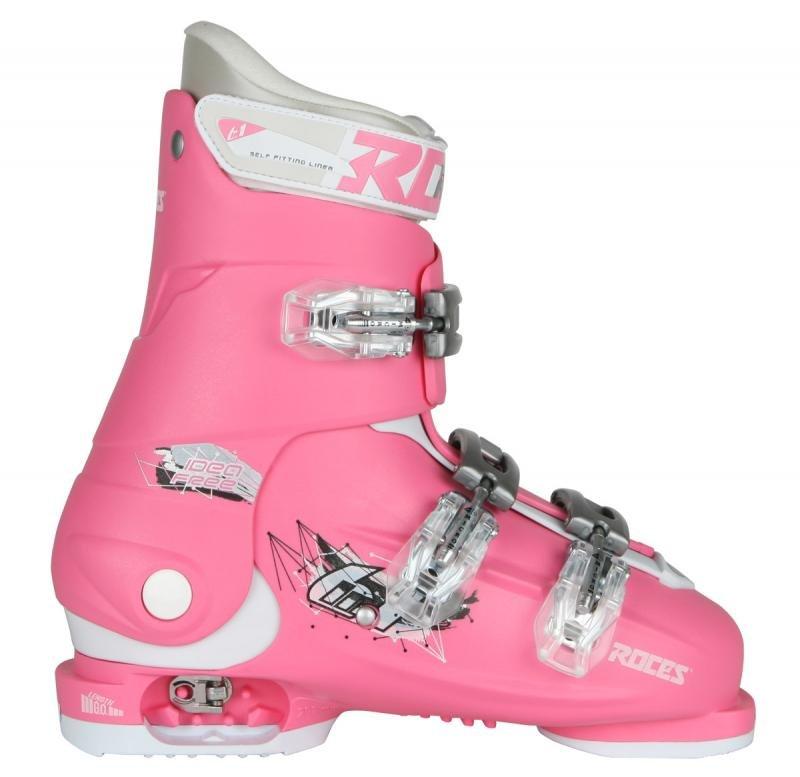 Lyžařské boty - Roces IDEA FREE 36-40 růžové dětské lyžáky