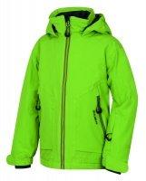 Zelená dětská chlapecká nebo dívčí lyžařská bunda Husky - velikost 164-170