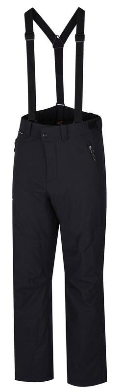 Černé pánské lyžařské kalhoty Hannah - velikost XL