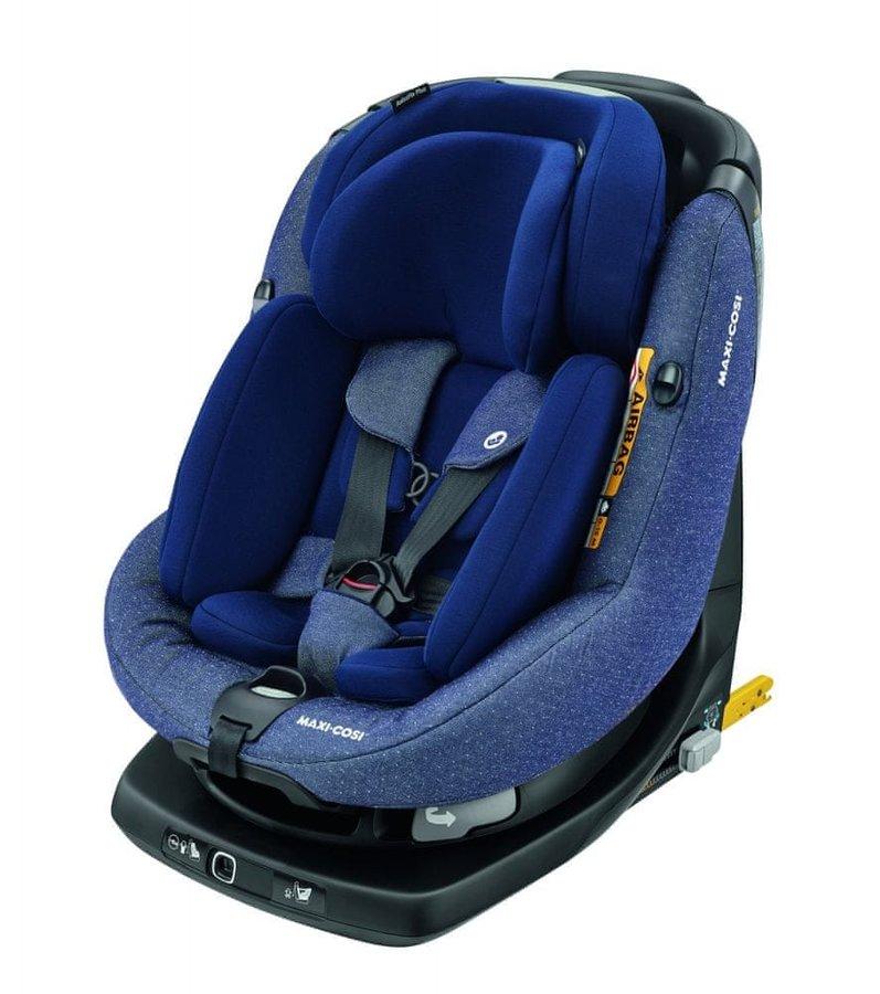 Modrá dětská autosedačka AxissFix Plus, Maxi-Cosi - nosnost 18 kg