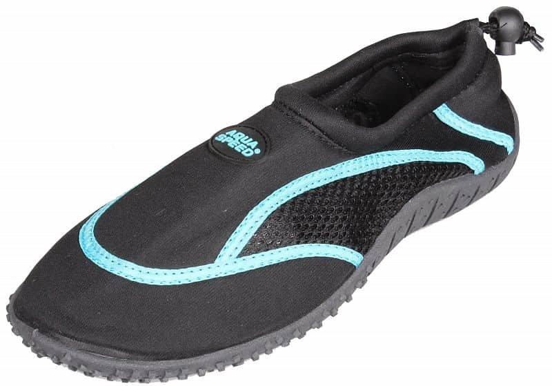 Černo-zelené boty do vody Jadran 3, Aqua-Speed