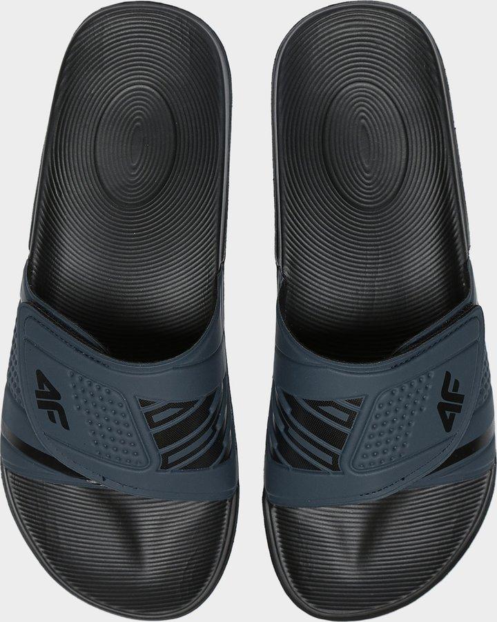 Modré pánské pantofle 4F