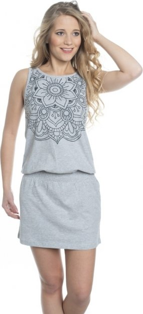 Šedé dámské šaty Sam 73 - velikost XXS