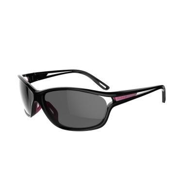 Černé běžecké brýle Kat3, Kalenji