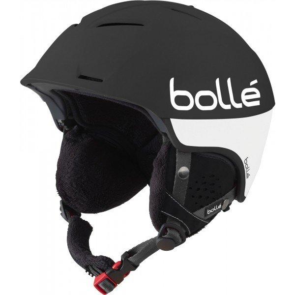 Bílo-černá lyžařská helma Bollé