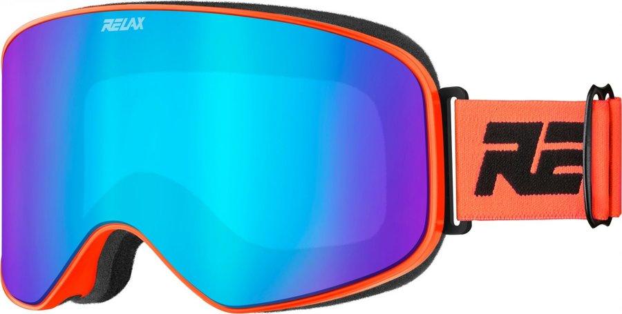 Oranžové dámské lyžařské brýle Relax