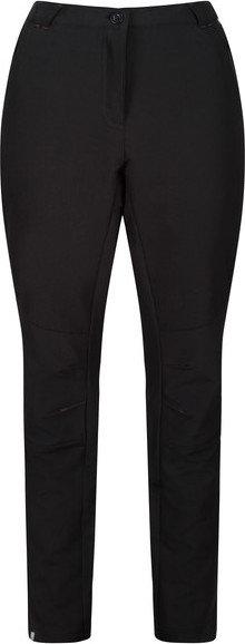 Černé dámské turistické kalhoty Regatta - velikost 38