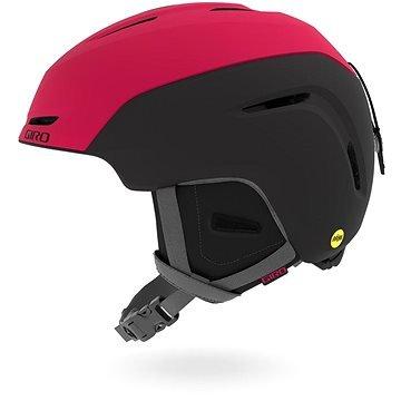 Černo-růžová dívčí lyžařská helma Giro - velikost 55,5-59 cm