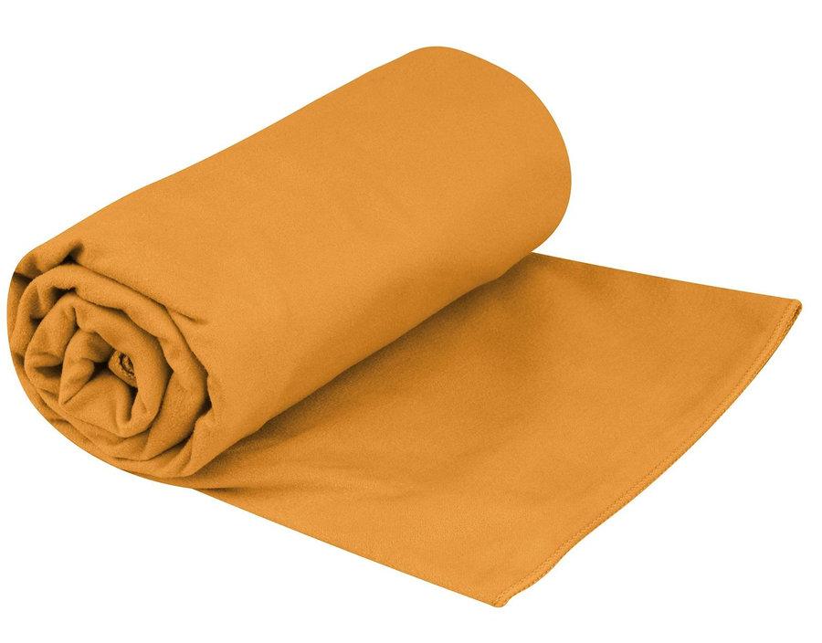 Ručník - Ručník Sea to Summit Drylite Towel XL Barva: oranžová