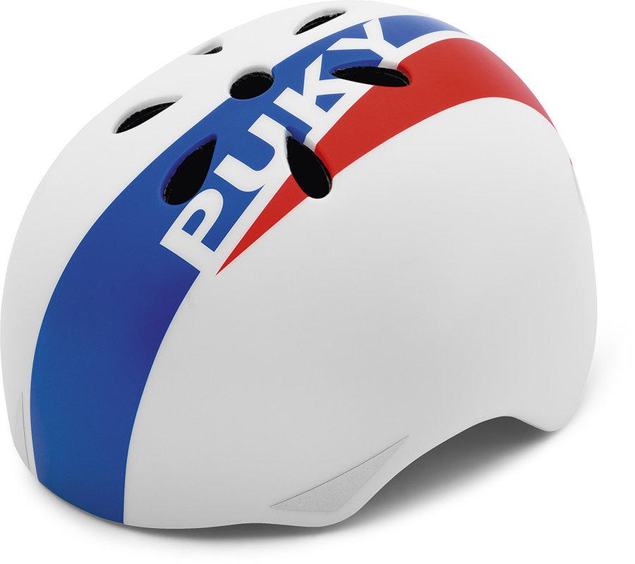 Cyklistická helma - PUKY - Přilba - Bílá 50 - 54 cm