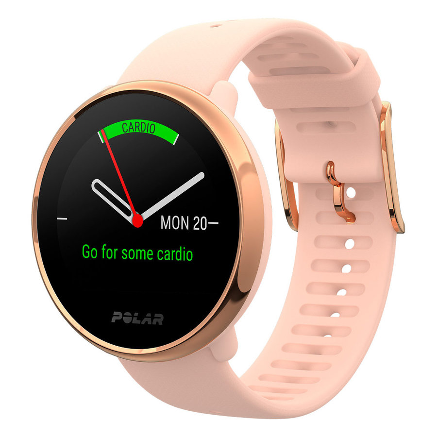 Růžové sportovní chytré hodinky Ignite, Polar