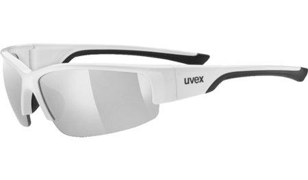 Černo-stříbrné cyklistické brýle Sportstyle, Uvex