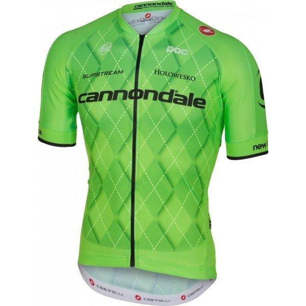 Zelený pánský cyklistický dres Castelli - velikost L