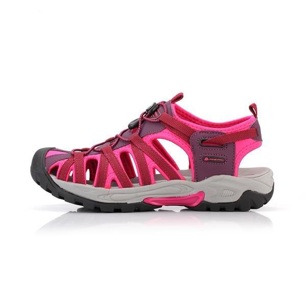 Růžové sandály Alpine Pro