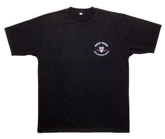 Černé pánské tričko s krátkým rukávem King fighter