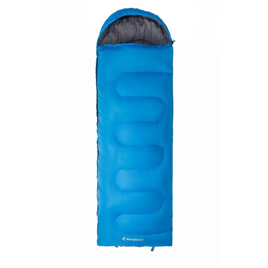 Modrý spací pytel King Camp - délka 220 cm