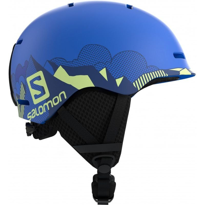 Modrá pánská lyžařská helma Salomon - velikost XS
