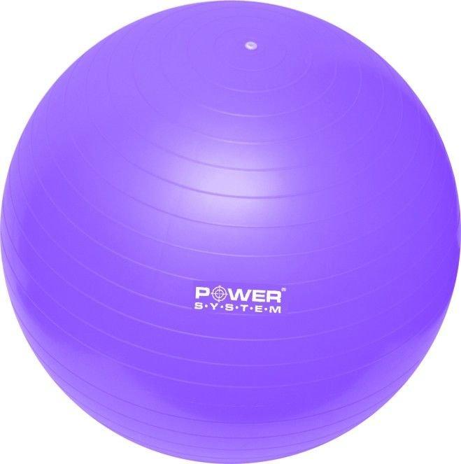 Fialový gymnastický míč Power System - průměr 85 cm