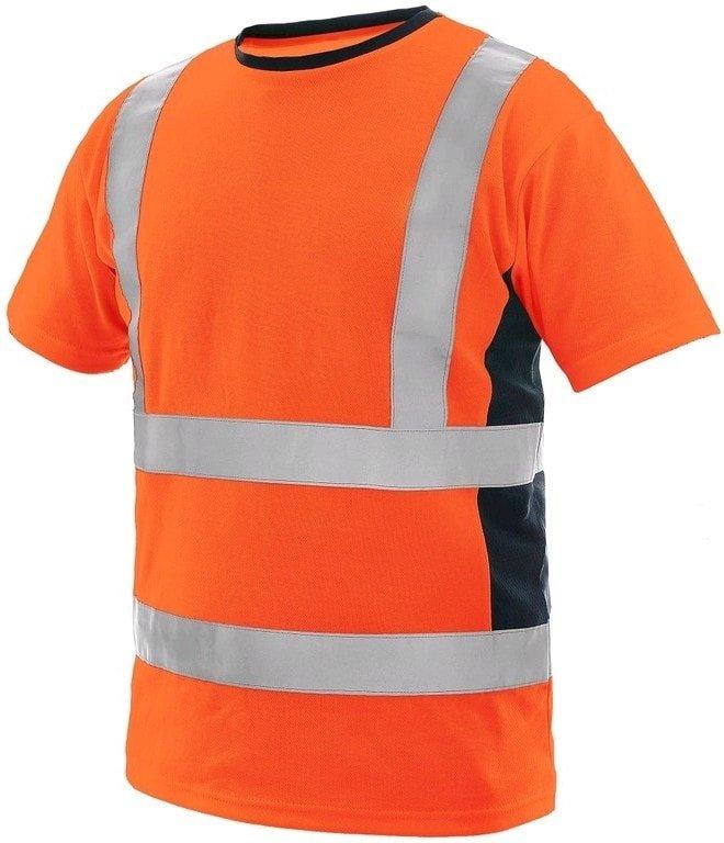 Reflexní pánské tričko s krátkým rukávem Canis