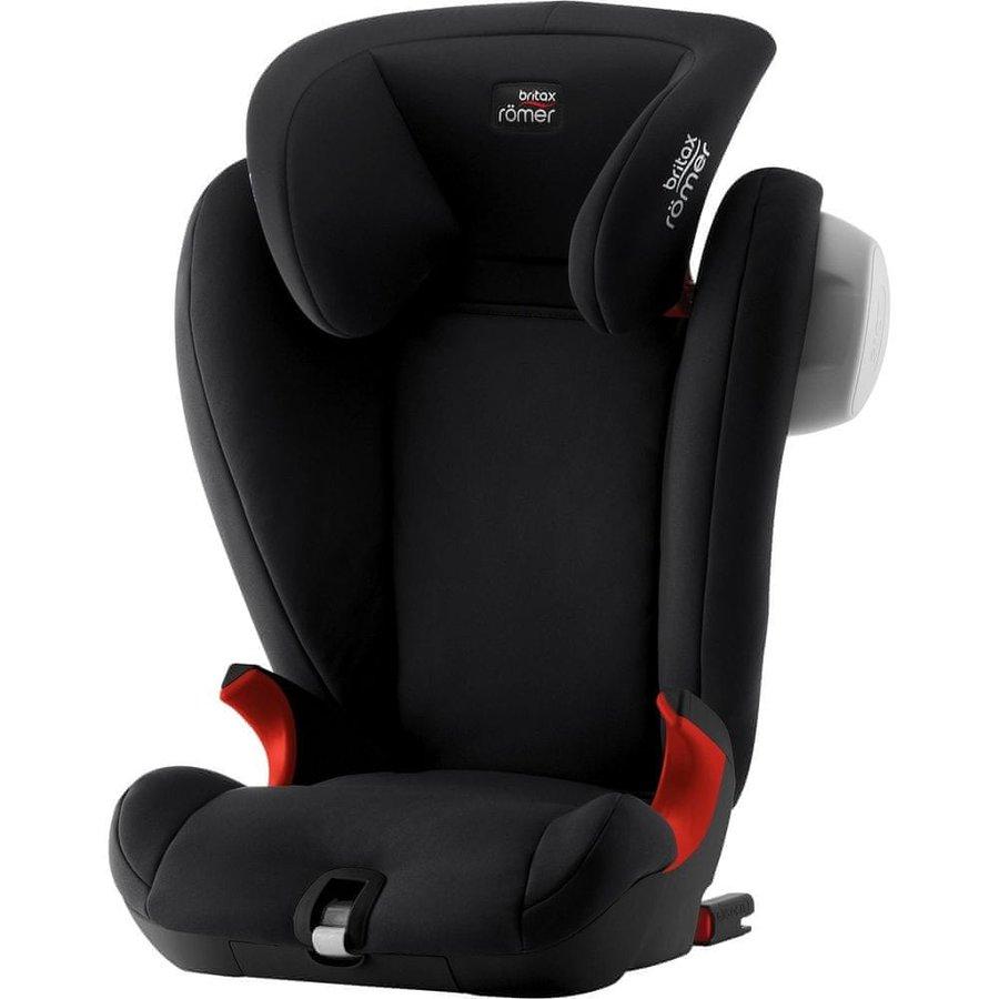 Černá dětská autosedačka Kidfix SL, Britax - nosnost 36 kg