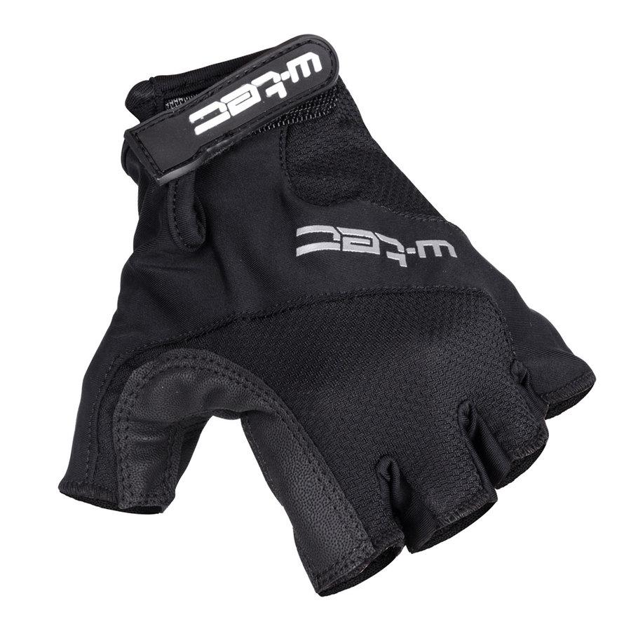 Černé pánské cyklistické rukavice Mupher AMC-1037-17, W-TEC