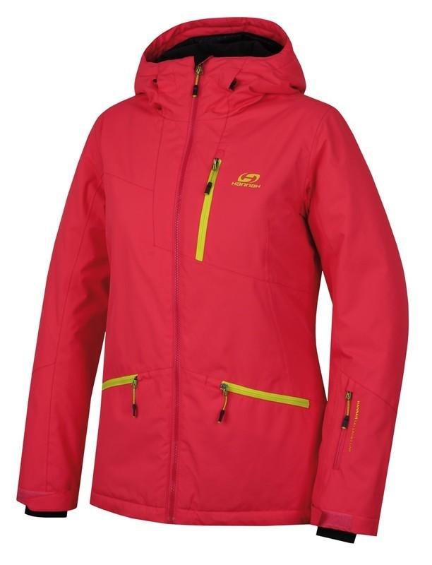 Červená dámská lyžařská bunda Hannah - velikost 34