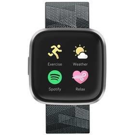 Černé chytré hodinky Versa 2 Special Edition, Fitbit