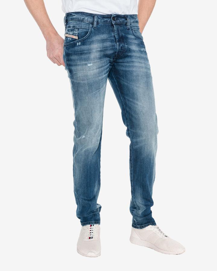 Modré pánské džíny Diesel - velikost 34