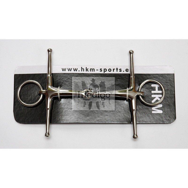 Roubíkové udidlo HKM - šířka 11,5 cm