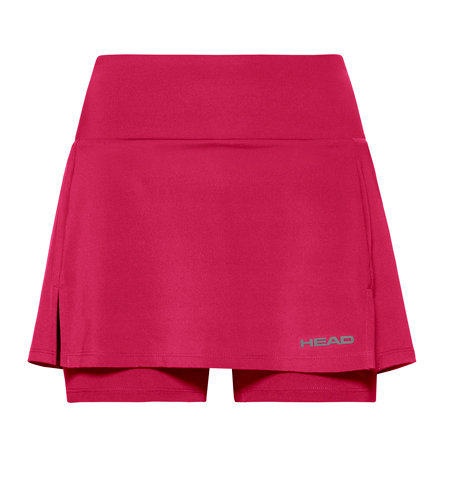 Růžová dámská tenisová sukně Head