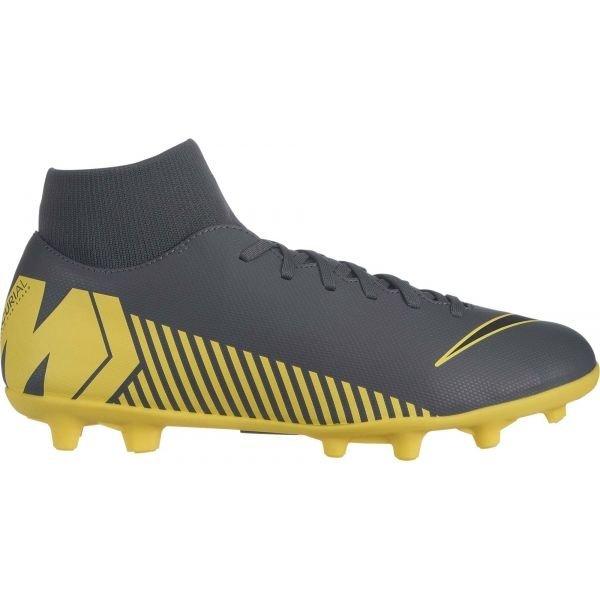 Šedo-žluté pánské kopačky Nike