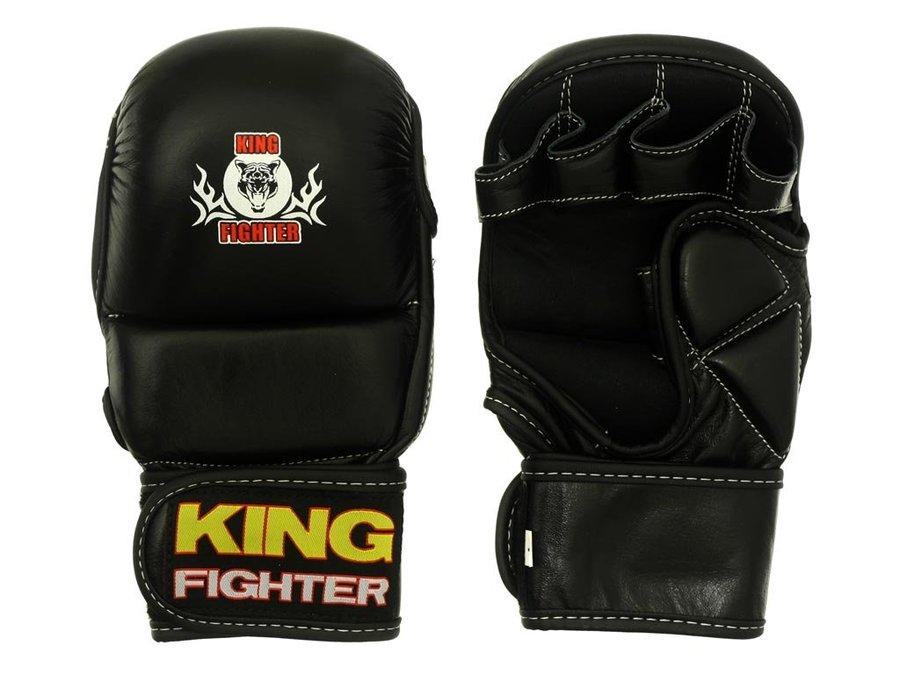 Černé MMA rukavice King fighter - velikost M