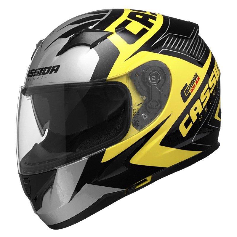 Helma na motorku Cassida