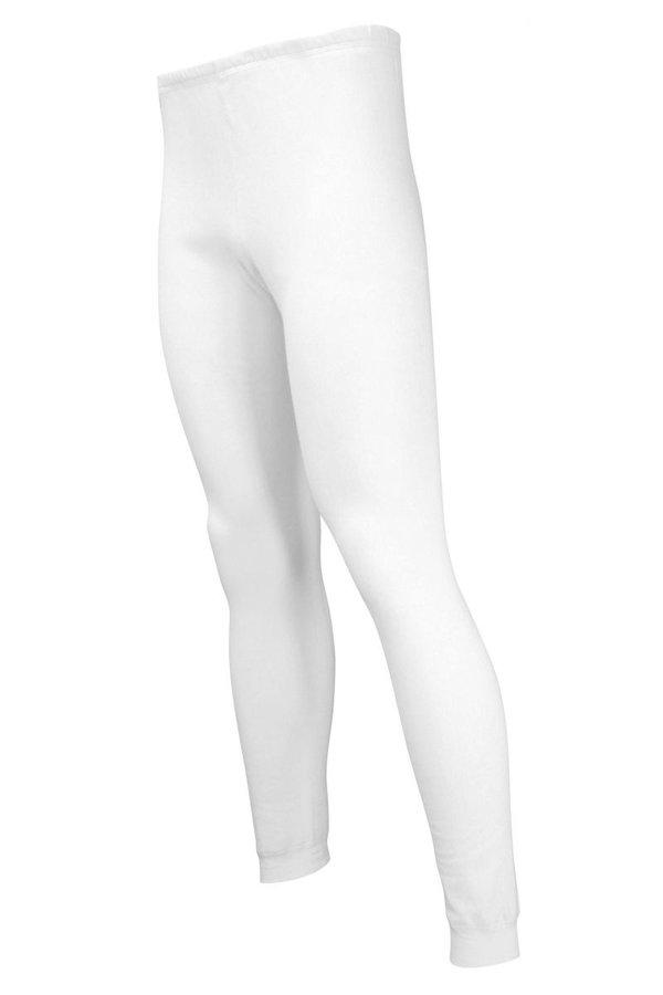 Bílé pánské funkční kalhoty Lasting